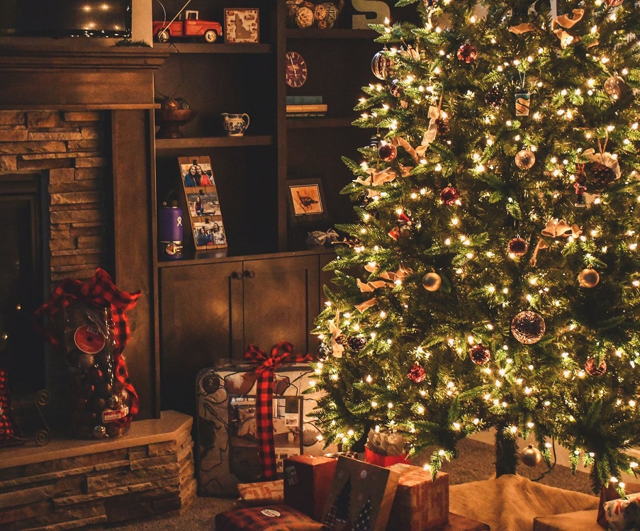 Addobbi Natale.Come Decorare Una Casa Piccola Amo Il Natale